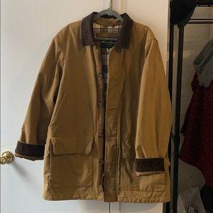 XL Eddie Bauer jacket, corduroy collar